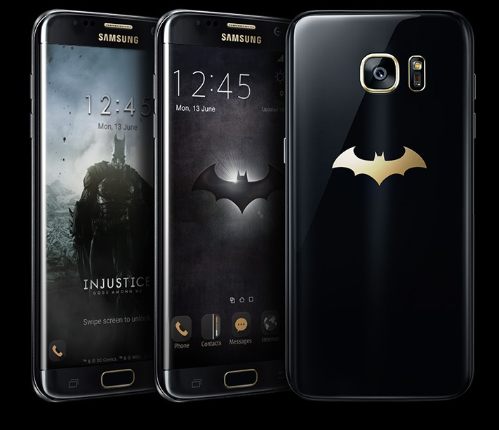 Samsung ne arata Galaxy S7 Edge Batman