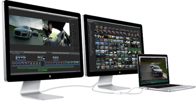 Apple a Anuntat ca Renunta la Conectorul Thunderbolt Display