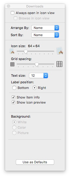 show-view-options-mac-osx