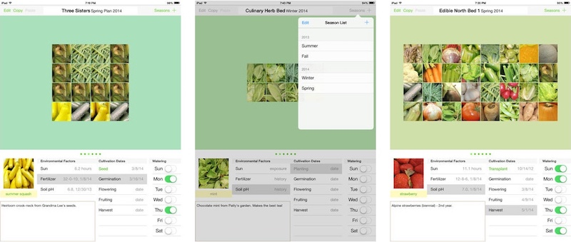 veronicas-garden-tracker-ipad-screenshots